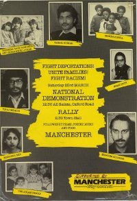 Image of a demo rally poster